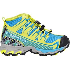 La Sportiva Falkon GTX Shoes Kids Blue/Sulphur